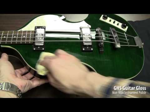 GHS Strings - Guitar Gloss Cleaning Demo