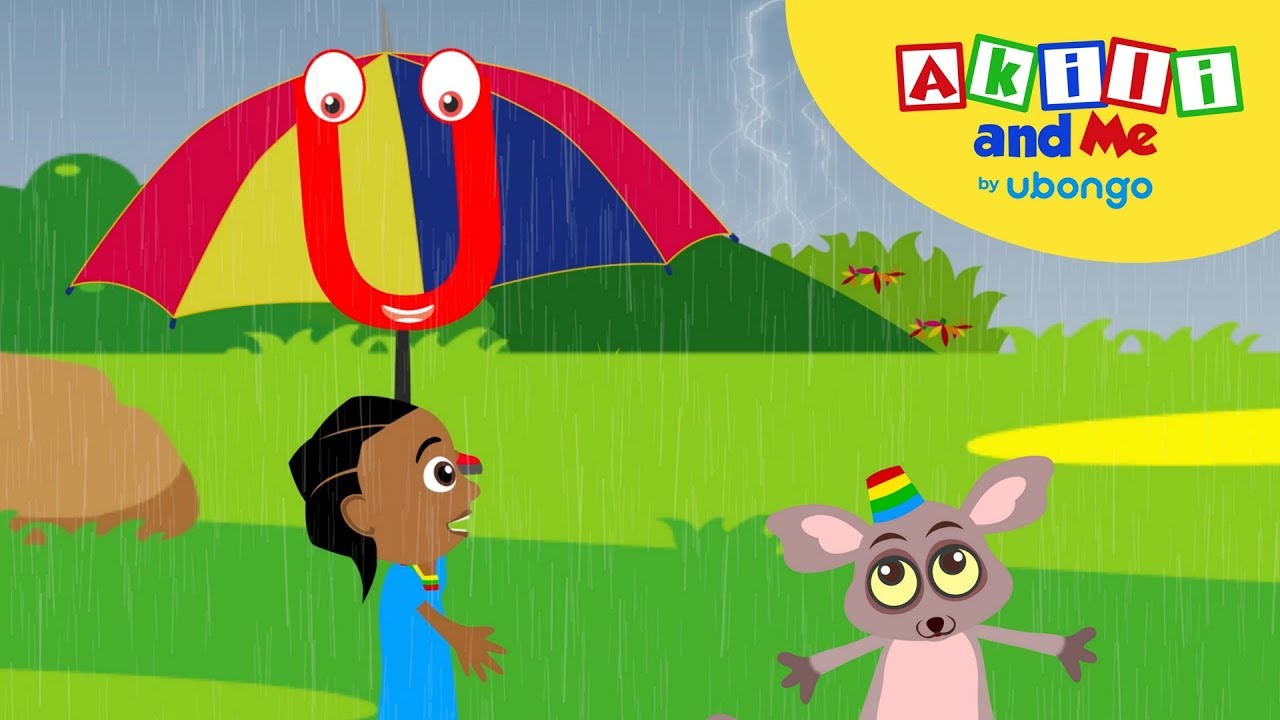 Sing the Letter U Song with Akili and Me! - African Alphabet Animations