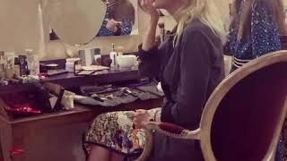 Кристина Орбакайте делает макияж с семилетней дочерью Клавой