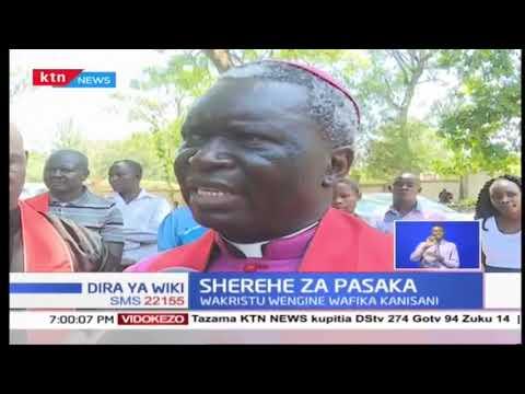 Sherehe ya Pasaka: Wakristu waanda njia njia ya msalaba