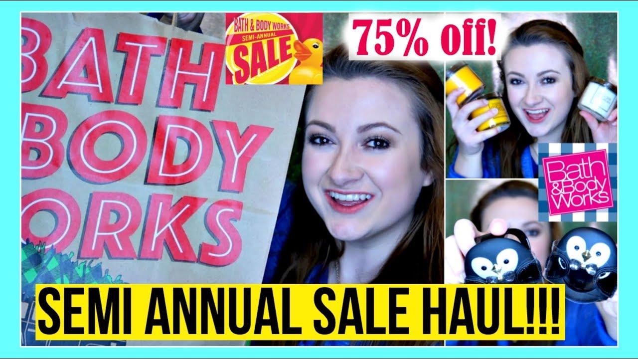 Bath And Body Works Semi Annual Sale Haul 3 Winter