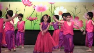 AbhiRam's Lagaan Dance - Euro Kids Annual Day 2013