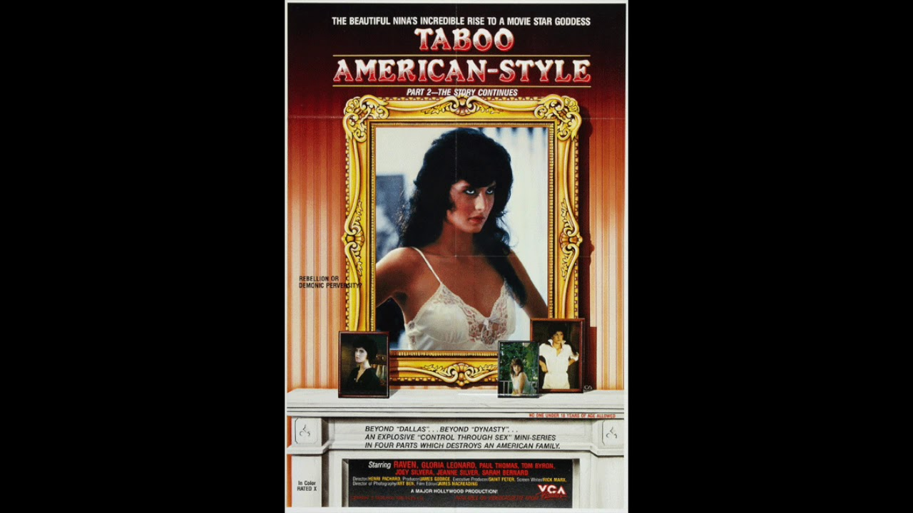 American Taboo Movie 'taboo american style' (1985): an outsider's story – the rialto report  podcast 85