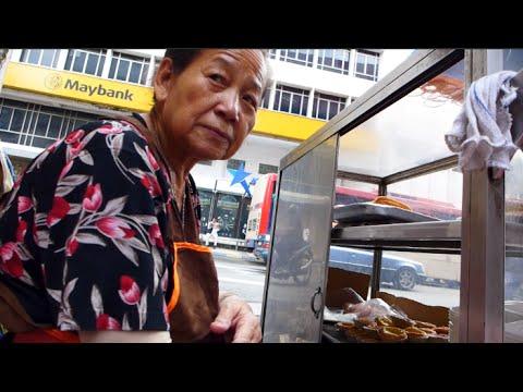 Kaya Kok, Egg Tart and Swiss Roll at Lorong Yap Ah Loy, Kuala Lumpur 咖央角、蛋撻和咖椰蛋糕卷