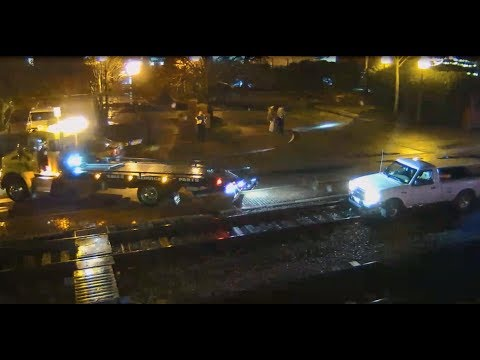 Truck on the Tracks – Yes, Ashland!