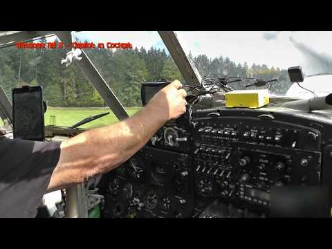 How to fly an Antonov AN2 ~ Scenic flight with an Antonov AN2 in the cockpit