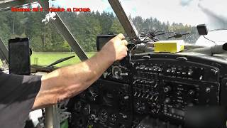How to fly an Antonov AN2 ~ Scenic flight with an Antonov AN2 in the cockpit