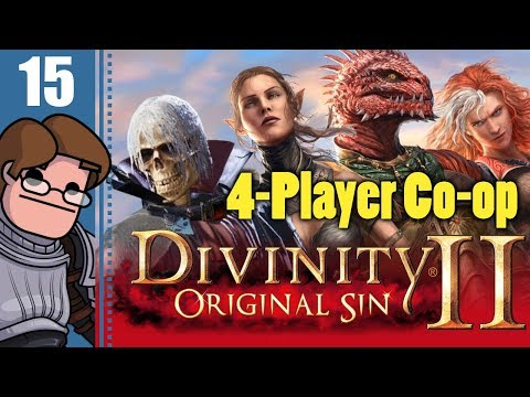 Let's Play Divinity: Original Sin 2 Four Player Co-op Part 15 - Amadia