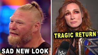 Brock Lesnar Sad New Look Becky Lynch Tragic Return Wrestling News Rumors August 2021