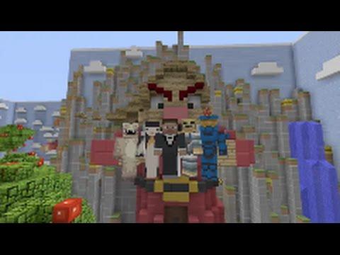 Minecraft Xbox Hide And Seek- The Seven Dwarfs