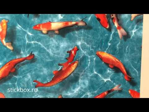 Декоративная самоклеющаяся пленка, Рыбки под водой, Alkor 2800003