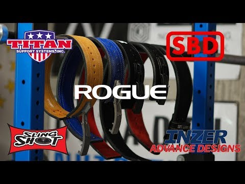 Powerlifting Belt Review - SBD, Inzer, Sling Shot, Titan, Rogue and More!