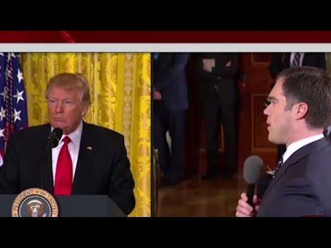 Reporter asks Trump about Electoral College margin