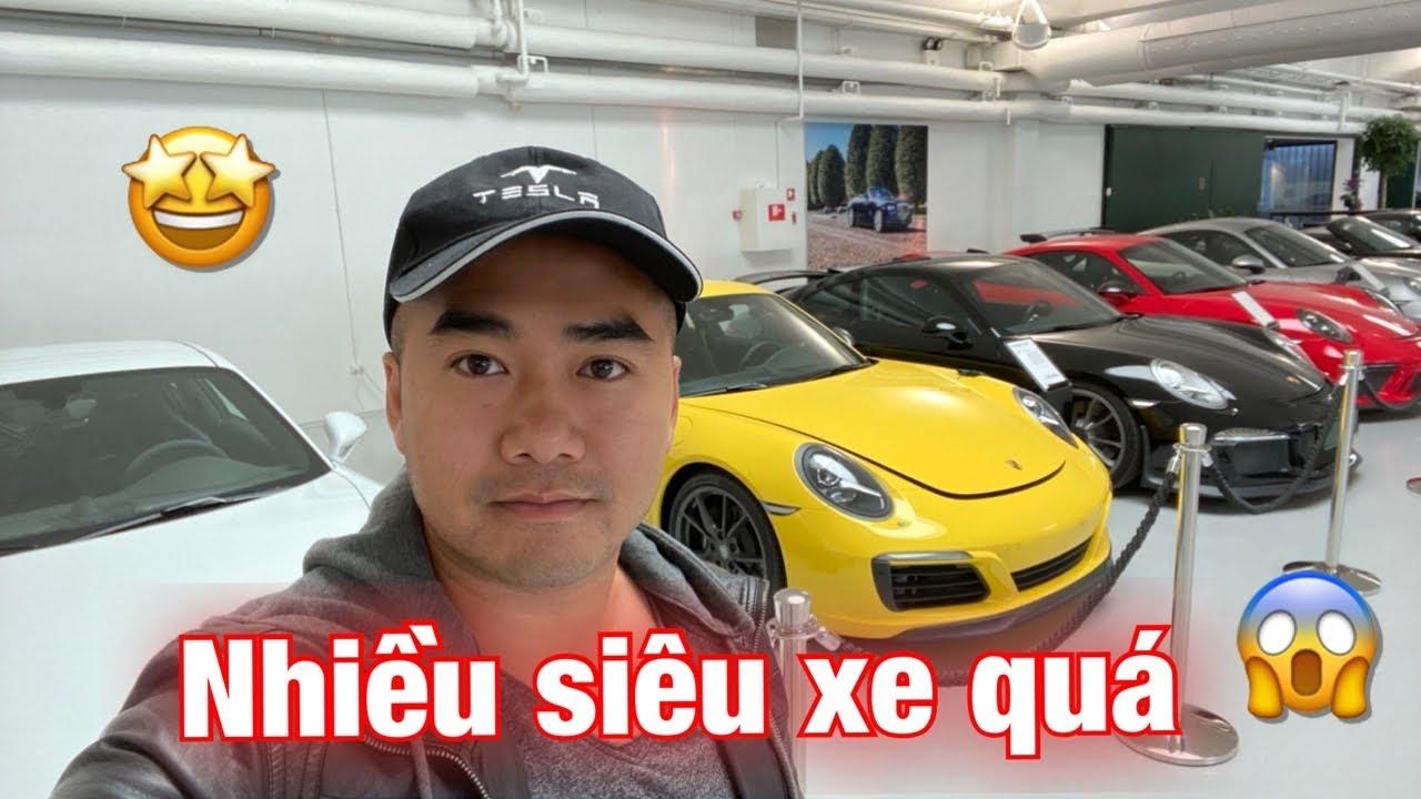#68: Showroom toàn siêu xe, đi bảo trì xe Porsche tại Đan Mạch :D
