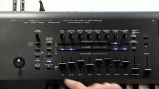 Музична Робоча Станція Корг Кронос Відео Керівництво Частина 2 - Режим Програми