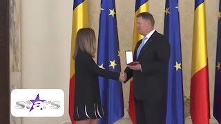 România își decorează campioana! Simona Halep a venit însoțită de iubit și părinți la ceremonie