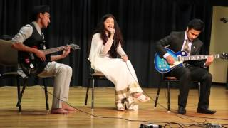 Dashain Tihar Song - Sugam Pokhrel Cover by Nirjala Parajuli at ULM 2015