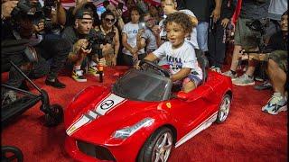 DJ Khaled celebrates son Asahd's birthday at Marlins Park in Miami