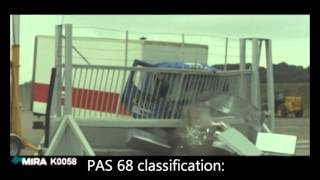 PAS68 crash tested SG1100CR Sliding Gate - Avon Barrier Thumbnail