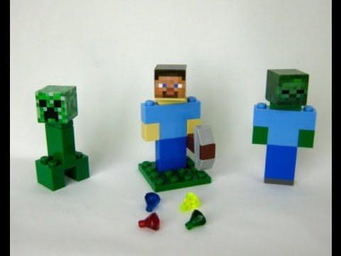 Лего minecraft детский мир