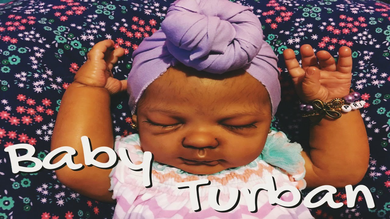 Reborn baby turban tutorial youtube reborn baby turban tutorial baditri Images