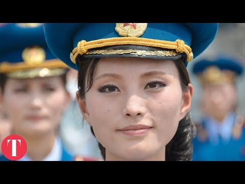 10 Weird Jobs All Women MUST DO In North Korea