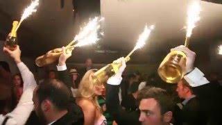 CHAMPAGNE PARTY AT BILLIONAIRE CLUB MONTECARLO
