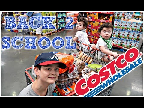 BACK 2 SCHOOL COSTCO HAUL! | $162