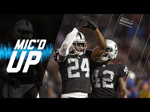 Chiefs vs. Raiders (2014) | Charles Woodson Mic