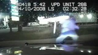 Police Pursuit In Victoria, TX Ends With Vehicle Catching Fire