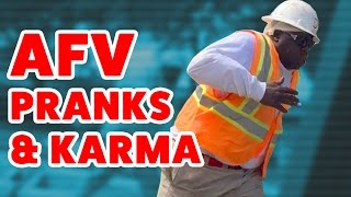 ☺ AFV Funniest Prank & Instant Karma Home Videos