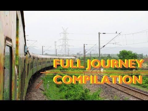 FULL JOURNEY Compilation : Secunderabad H.Nizamuddin Duronto Express | INDIAN RAILWAYS