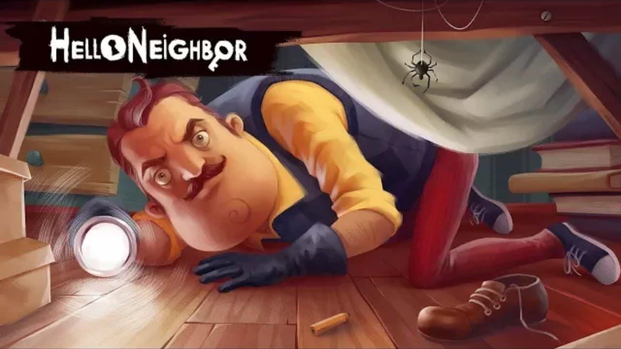 تحميل لعبة hello neighbor كاملة برابط مباشر