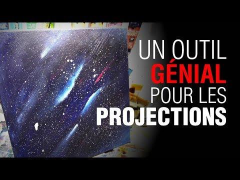 projection de peinture facile peinture acrylique youtube