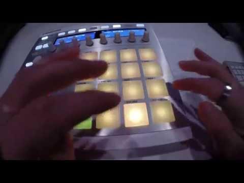 SKRILLEX - RAGGA BOMB WITH RAGGA TWINS [maschine live]