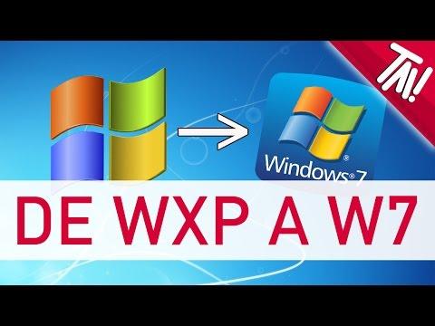Como actualizar de XP y Vista a Windows 7 FACIL Y RAPIDO 2017
