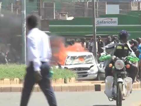 Protests erupt in Kisumu, Migori after Supreme Court judgment
