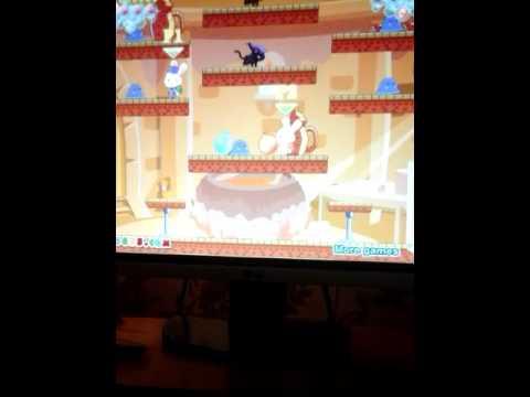 Игра на двоих  кролики и пузыри 2 серия