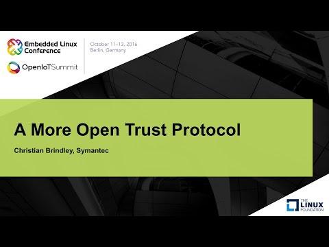 A More Open Trust Protocol