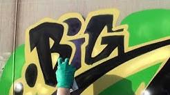 New Day New Train! GRAFFITI Video Timelapse - BEAT BY J'ADED - 2020 SDK Canada - Stompdown Killaz