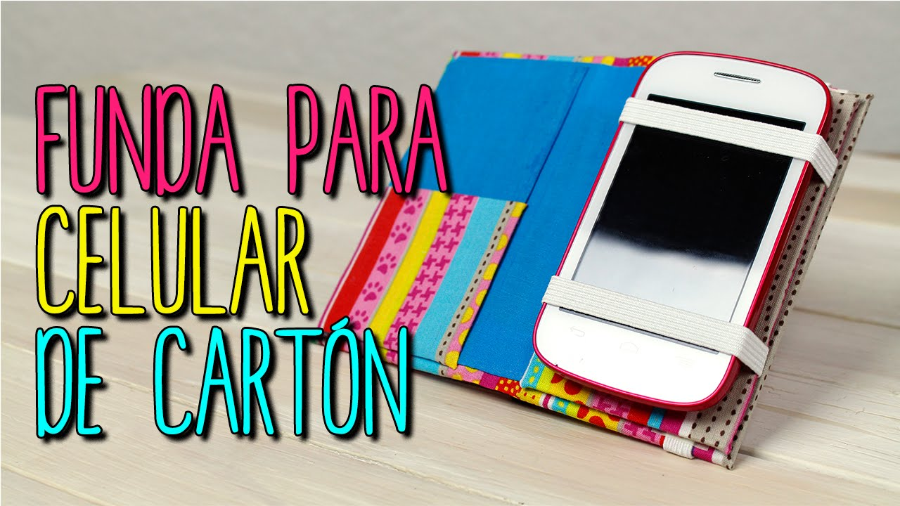 Como hacer funda para celular con cart n diy funda para m vil cartonaje catwalk youtube - Como decorar una funda de movil ...