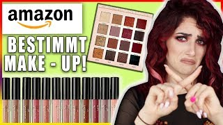 AMAZON bestimmt mein MAKEUP! Ganzes Makeup nur mit AMAZON Produkten?! Luisacrashion
