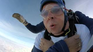 This video is of Terry Keen Tandem SkyDive jumping for Pitt Hopkins Syndrome
