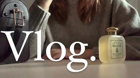 (eng)vlog _ 직장인 일상 브이로그, 출근룩, 유럽가고 싶은 마음을 담은, 산타마리아노벨라 멜로그라노, 모이아, SantaMariaNobella Melograno