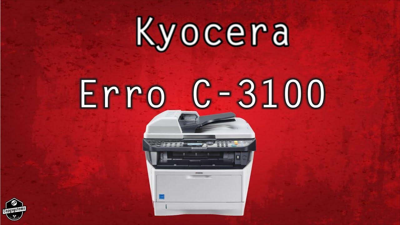 Erro C-3100 Kyocera