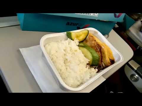 Полет с Azurair