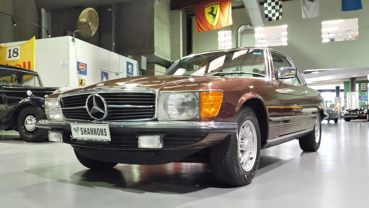 1977 Mercedes-Benz 450 SLC Coupe - 2020 Shannons Winter Timed Online Auction
