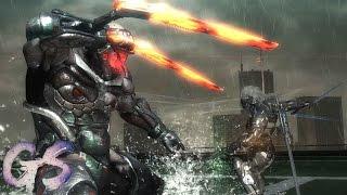 Sundowner getting the Boss battle he always deserved I Metal Gear Rising: Revengeance
