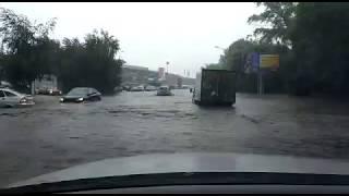 Потоп в Уфе июнь 2017