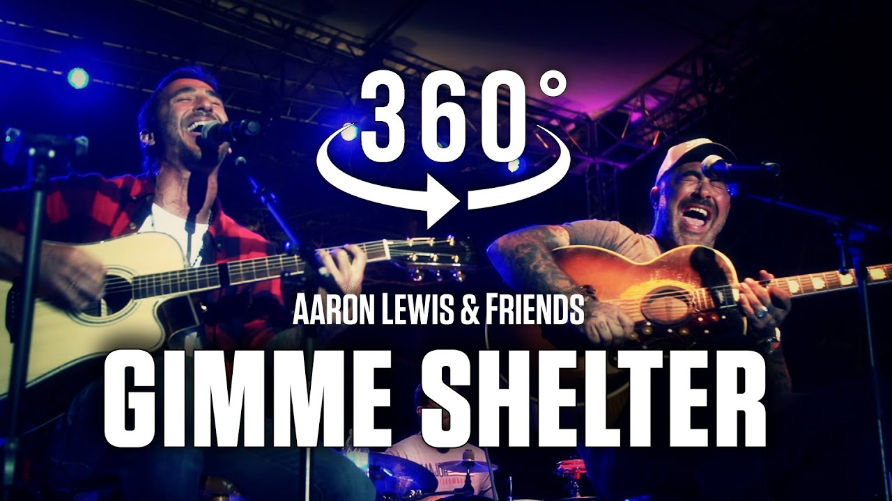 """Gimme Shelter"" (Rolling Stones) by Sully Erna of Godsmack & Aaron Lewis of Staind in 360° VR"